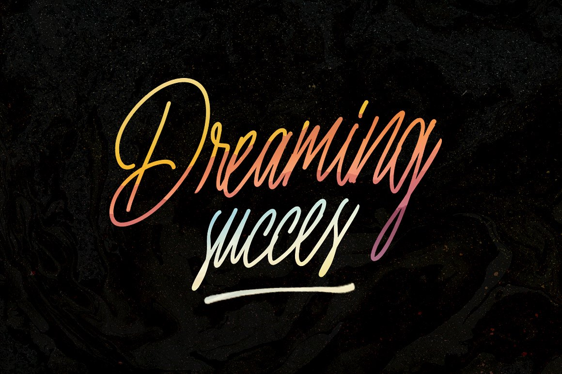 Print on Demand: Nuvanticia Script & Handwritten Font By bloomxxvi - Image 3