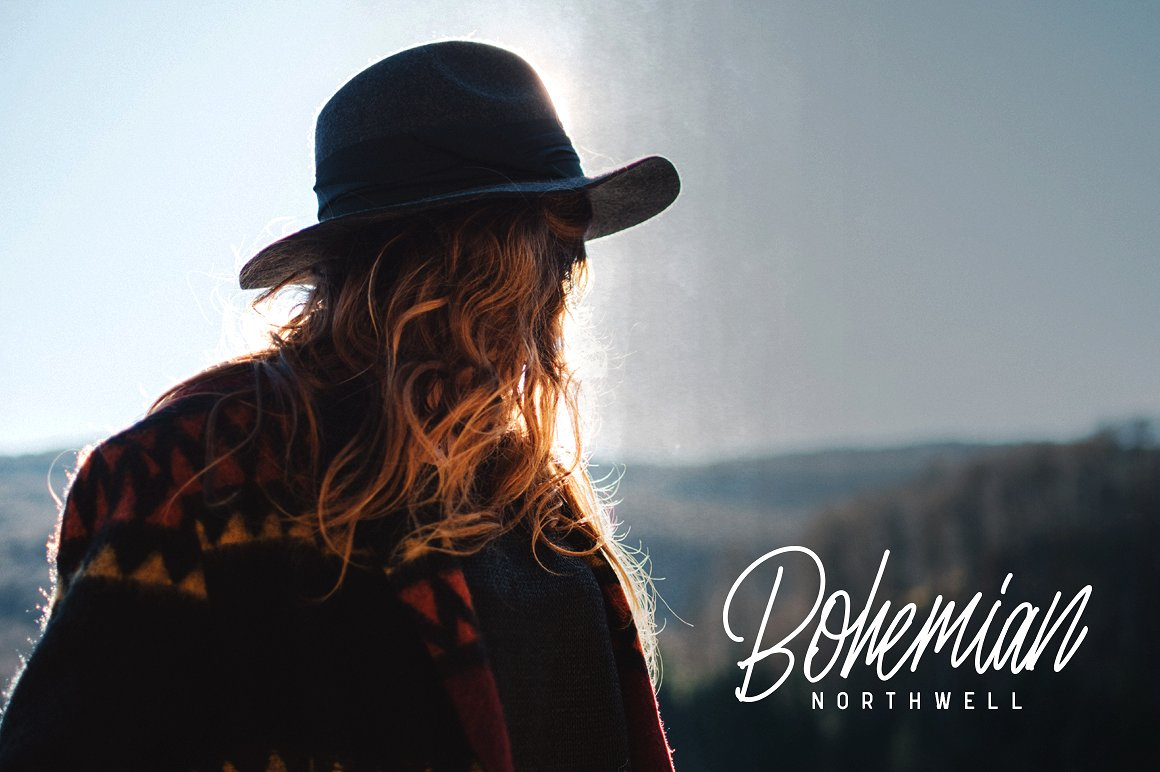 Print on Demand: Nuvanticia Script & Handwritten Font By bloomxxvi - Image 5