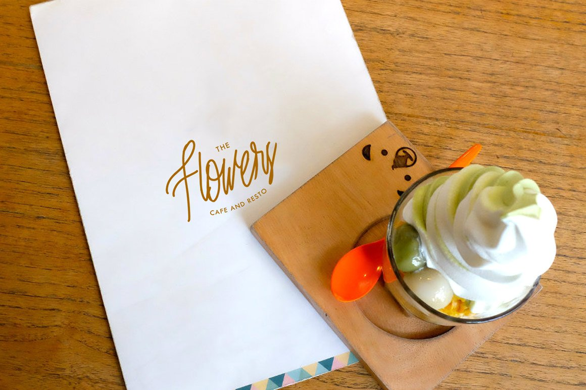 Print on Demand: Nuvanticia Script & Handwritten Font By bloomxxvi - Image 6