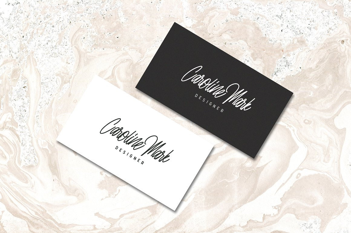 Print on Demand: Nuvanticia Script & Handwritten Font By bloomxxvi - Image 7