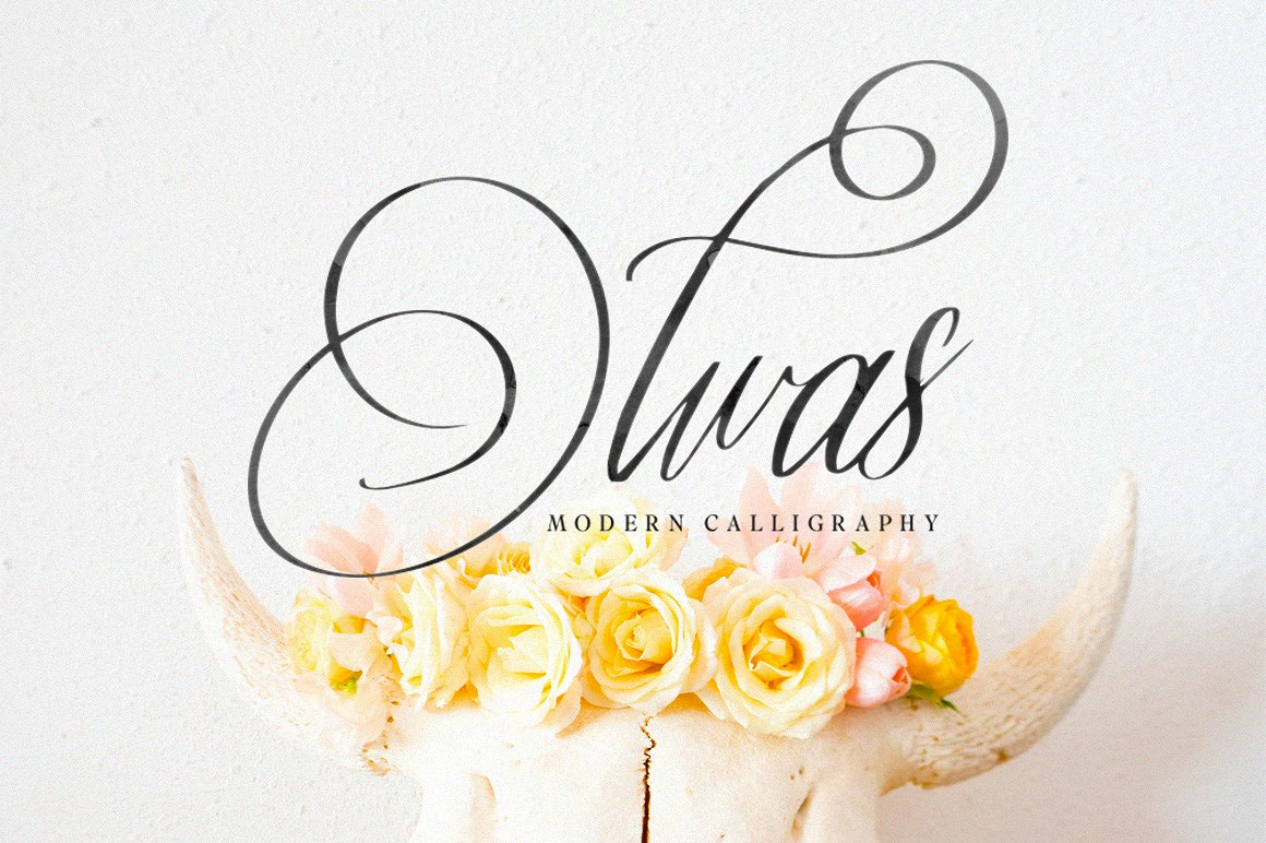 Print on Demand: Olwas Script & Handwritten Font By bloomxxvi - Image 4