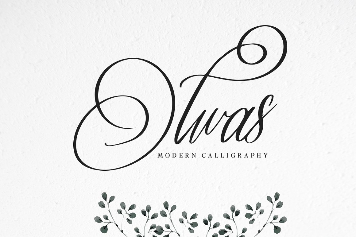 Print on Demand: Olwas Script & Handwritten Font By bloomxxvi - Image 1