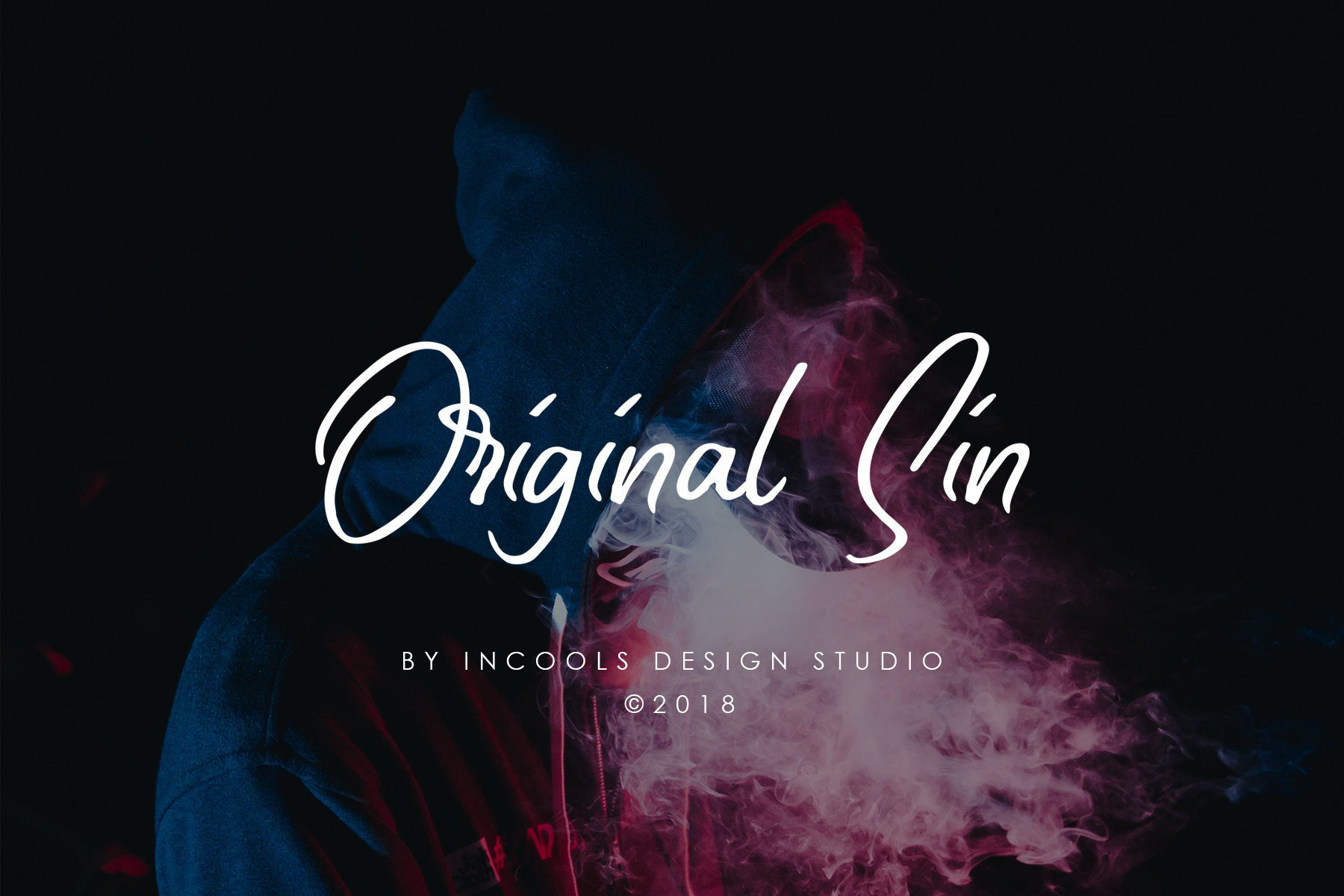 Print on Demand: Original Sin Script & Handwritten Font By Incools Design Studio