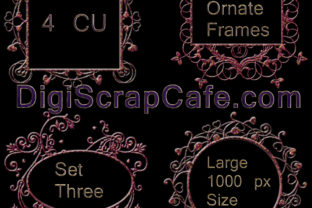 Ornate Frames Set 3 Graphic By Sojournstar