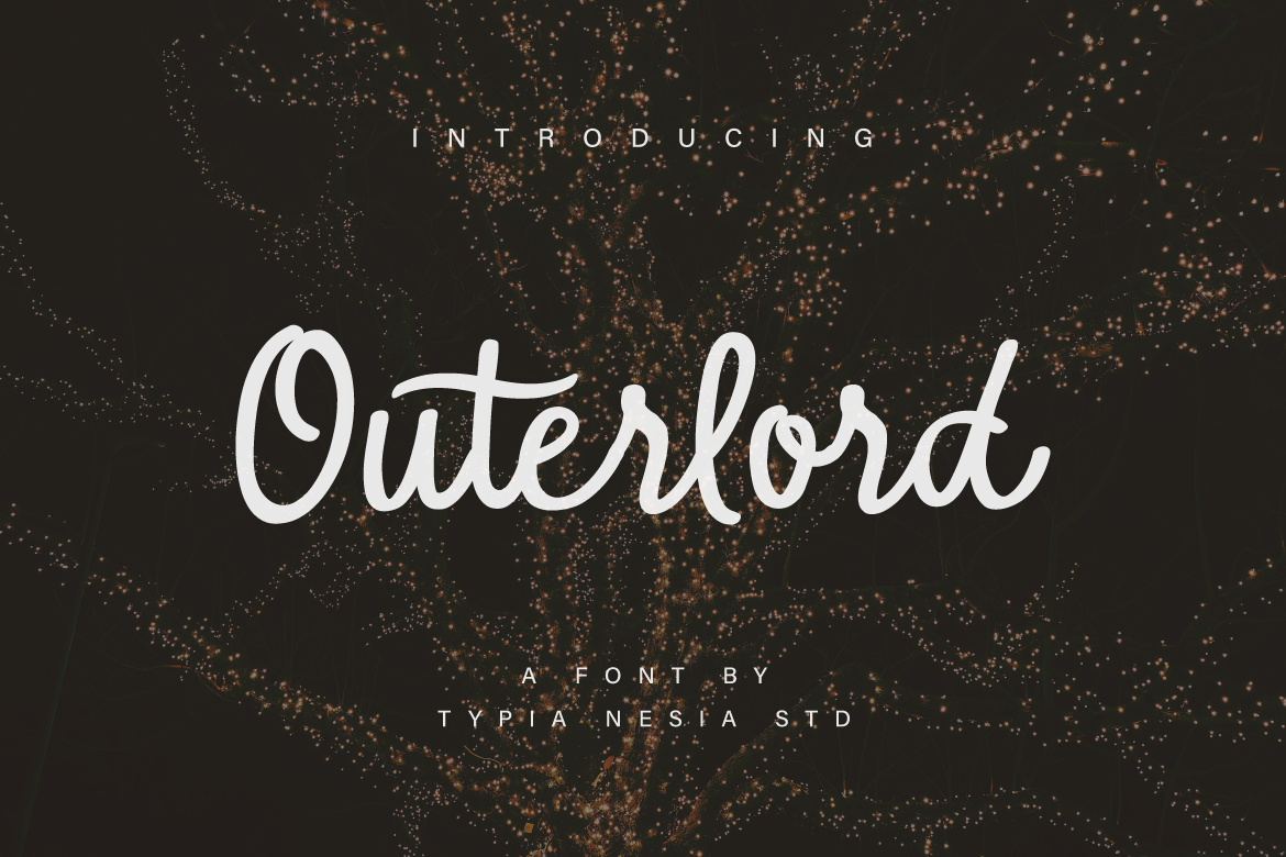 Print on Demand: Outerlord Script & Handwritten Font By Typia Nesia