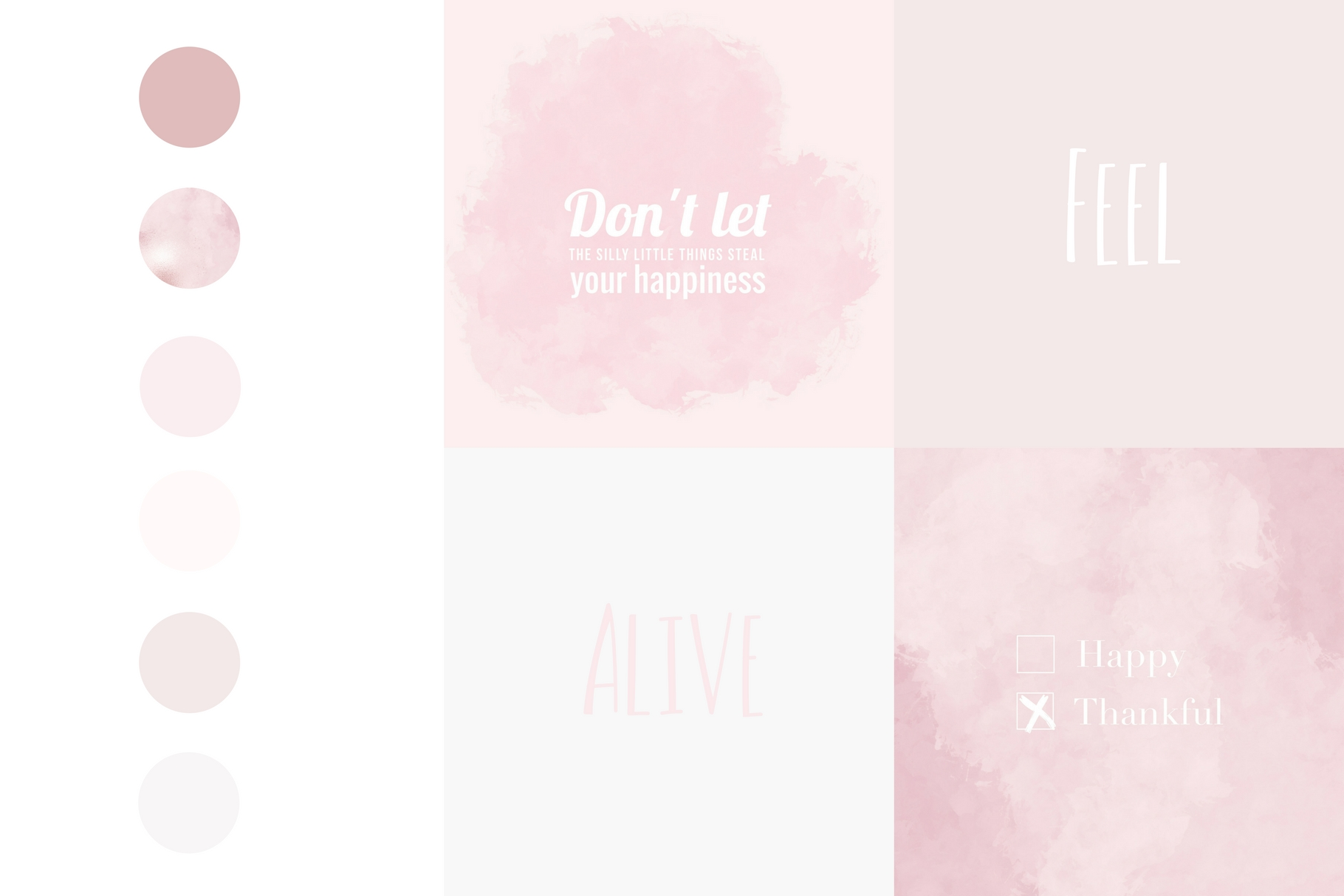 Paint and Pink Textures + Quotes Graphic Textures By Creative Stash - Image 5