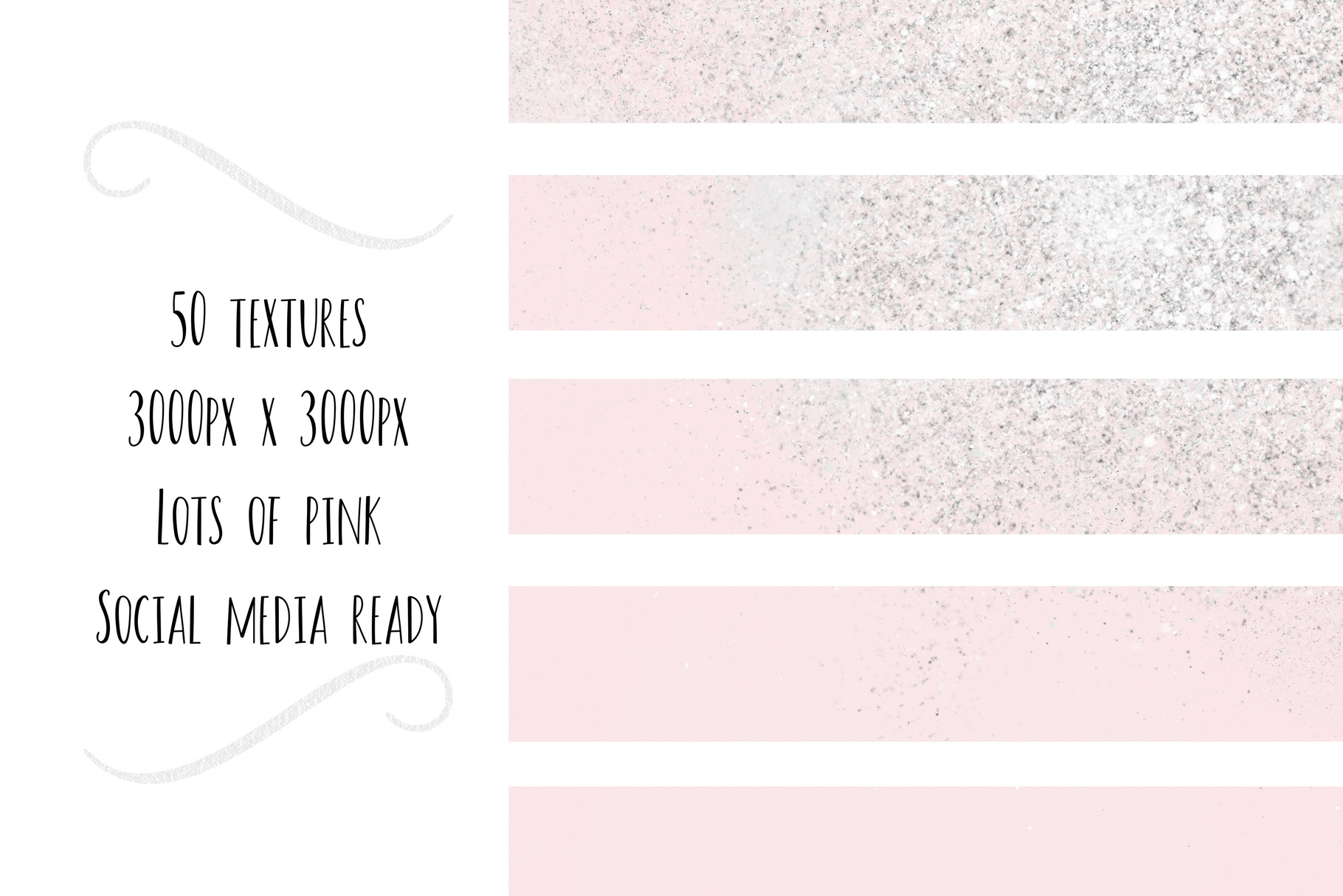 Paint and Pink Textures + Quotes Graphic Textures By Creative Stash - Image 6
