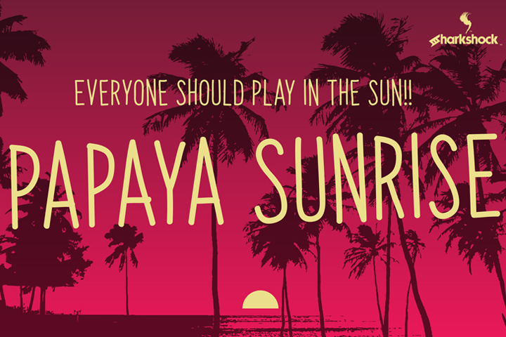 Print on Demand: Papaya Sunrise Script & Handwritten Font By Sharkshock - Image 1