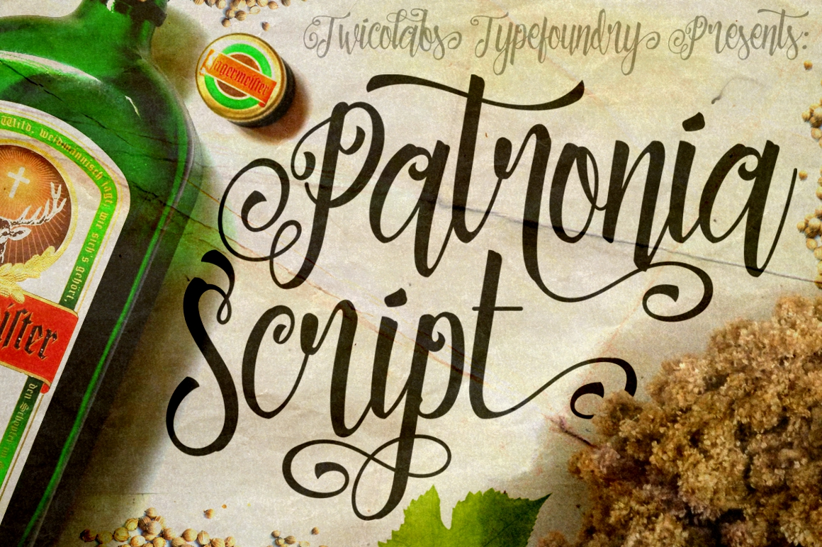 Print on Demand: Patronia Script & Handwritten Font By Fontdation - Image 1