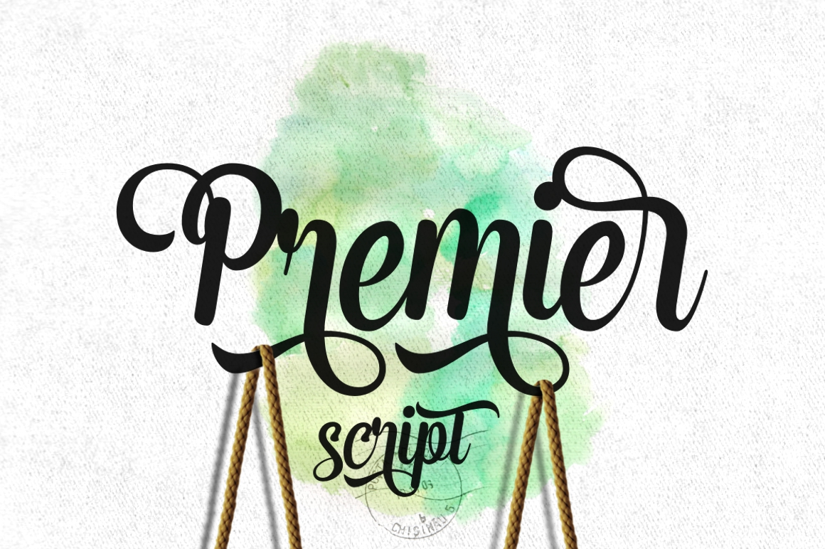 Print on Demand: Premier Script & Handwritten Font By Fontdation