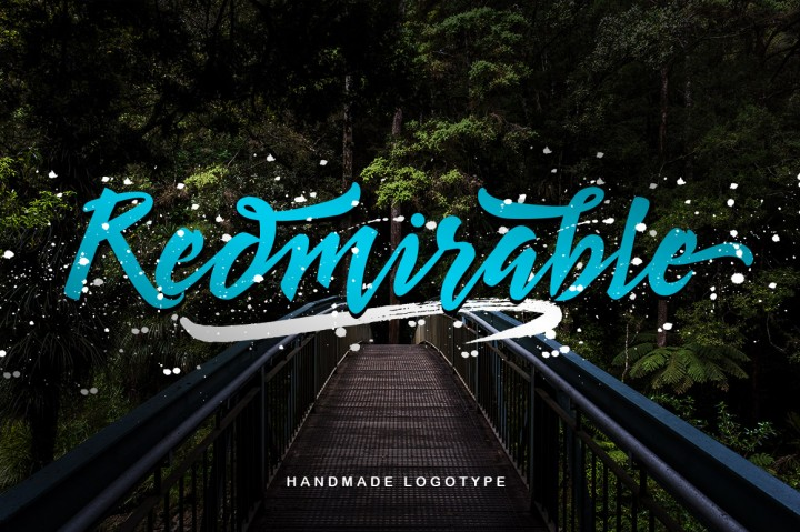 Print on Demand: Redmirable Script & Handwritten Font By Mindtype Co.