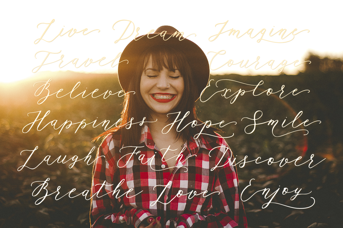 Rhapsody Font By Red Ink Image 2
