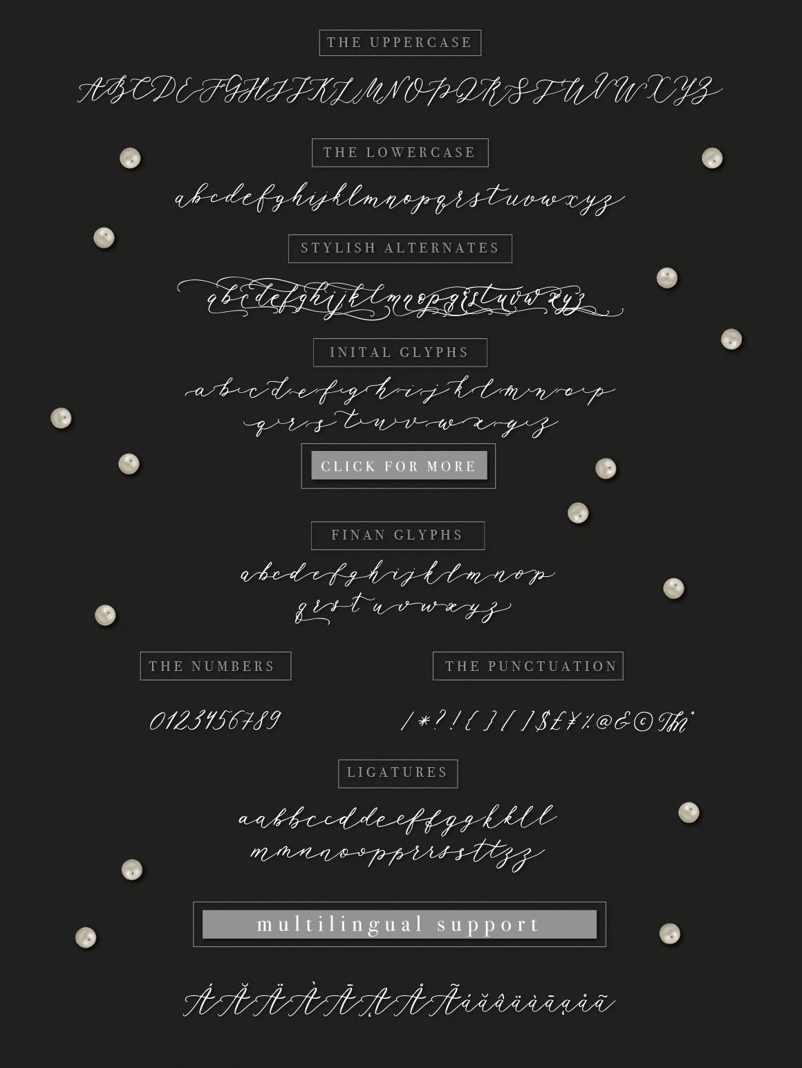 Rhapsody Font By Red Ink Image 5
