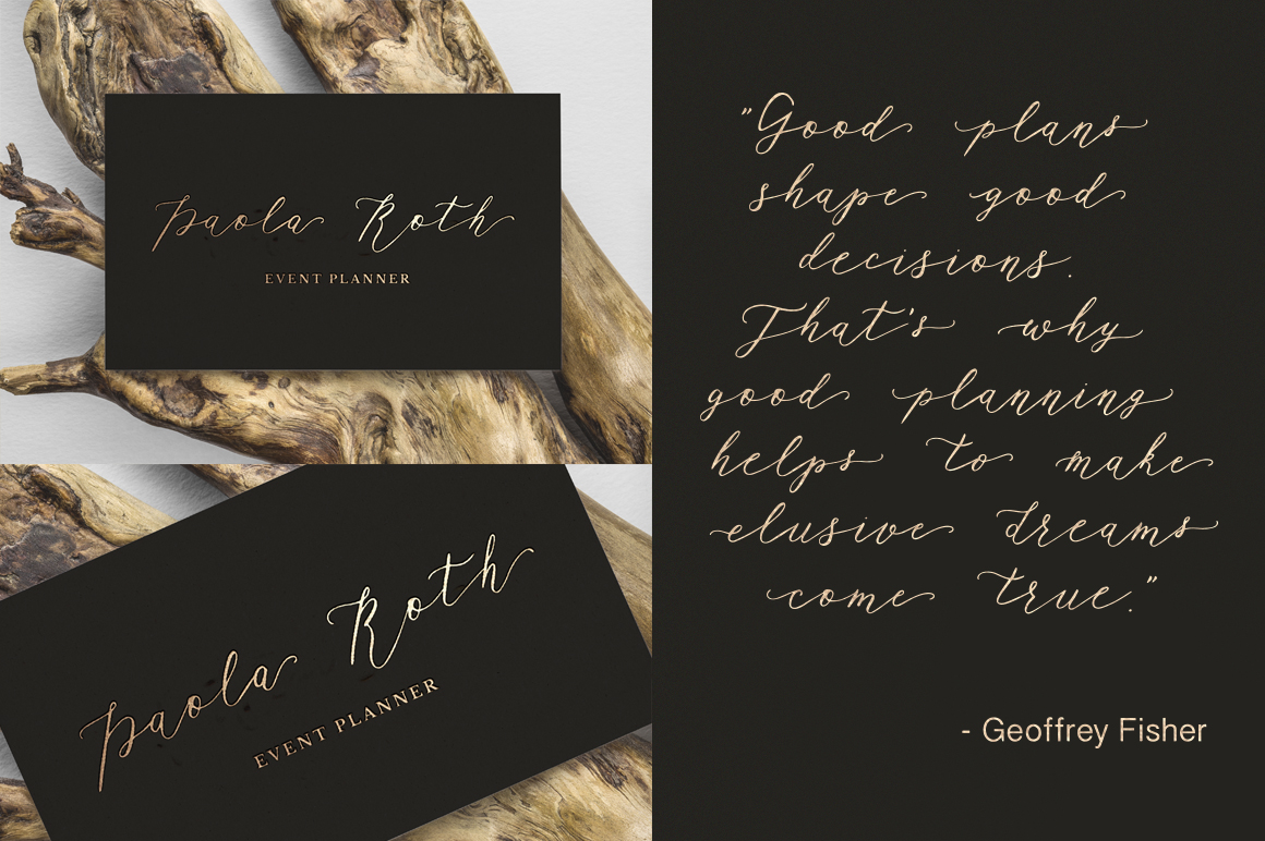 Rhapsody Font By Red Ink Image 8