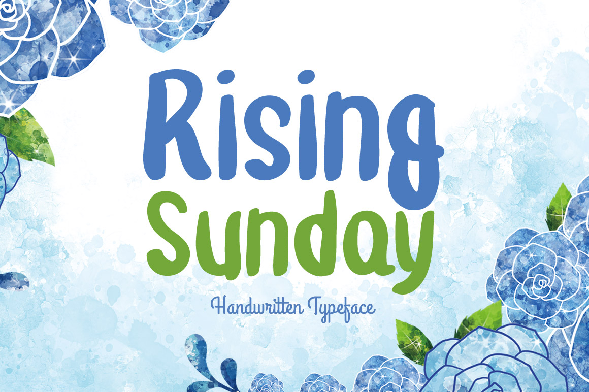 Rising Sunday Font By Contour Fonts