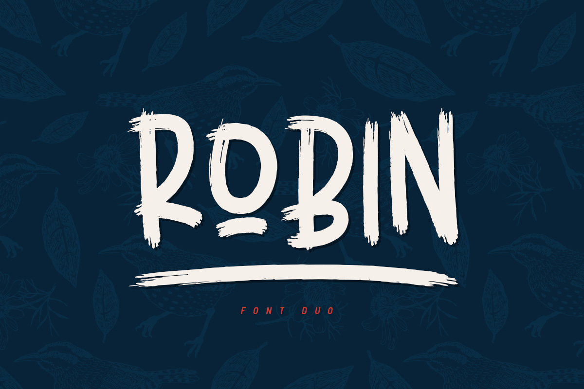 Print on Demand: Robin Script & Handwritten Font By Factory738 - Image 1