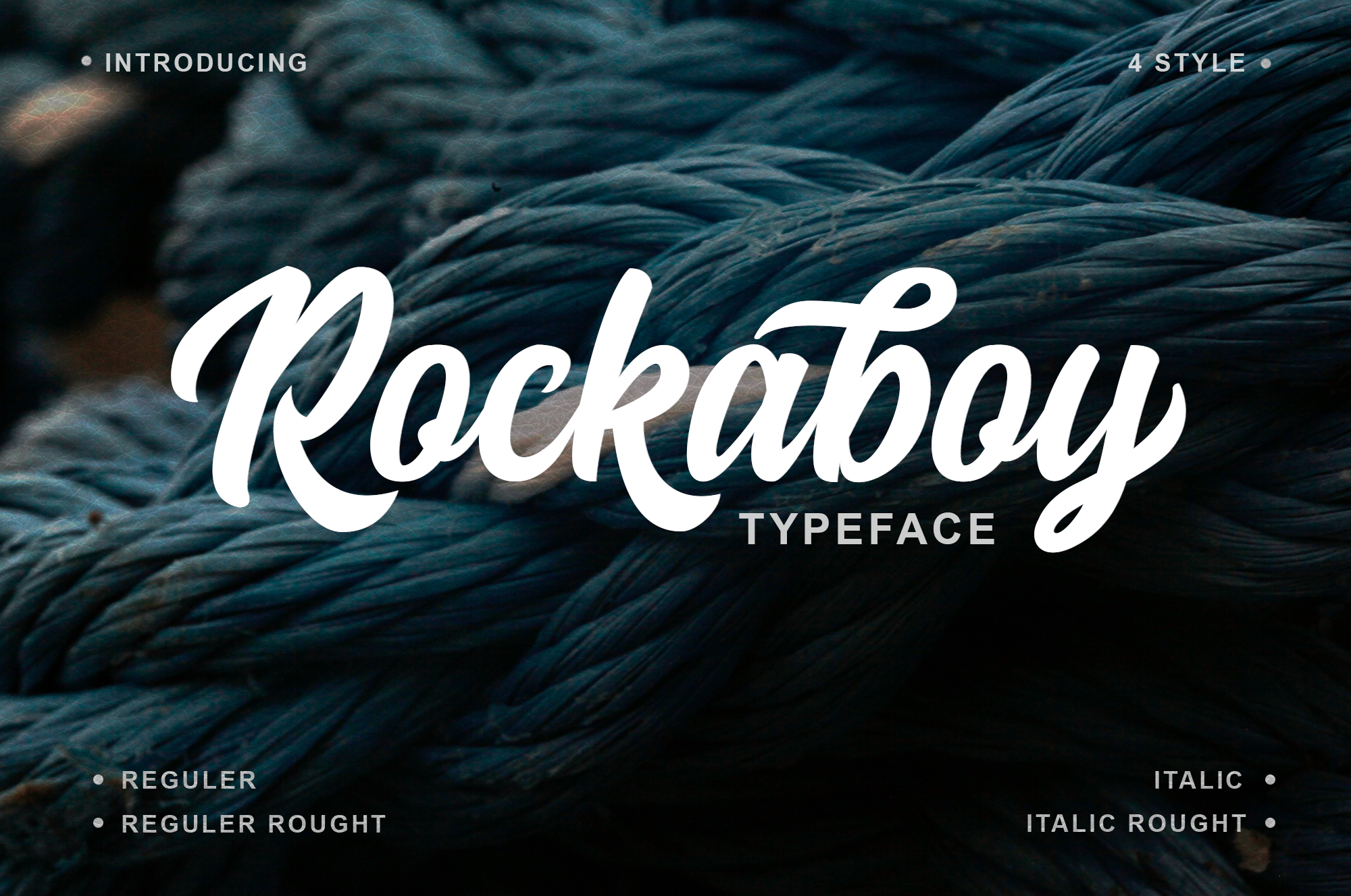 Print on Demand: Rockaboy Script & Handwritten Font By Bangkit Setiadi