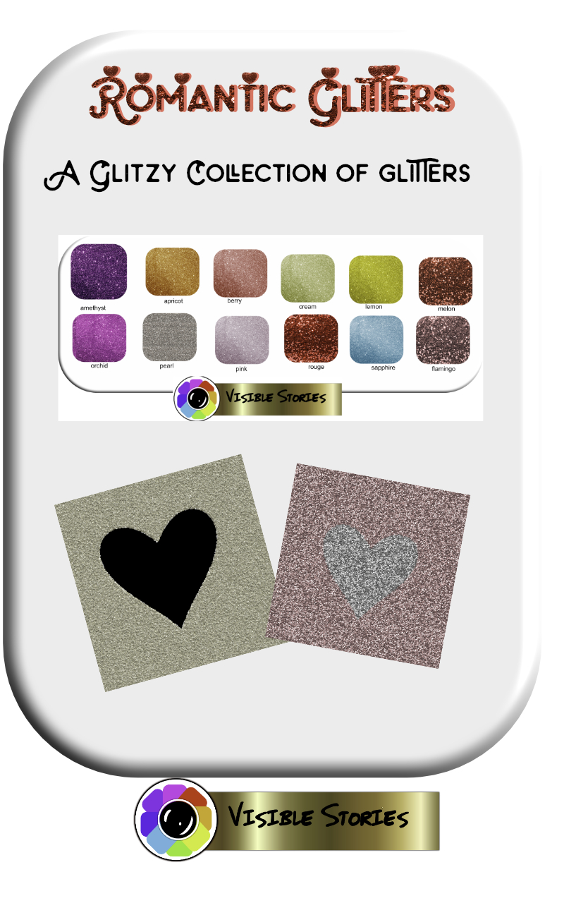 Print on Demand: Romantic Glitters Graphic Illustrations By Angela H. Evans