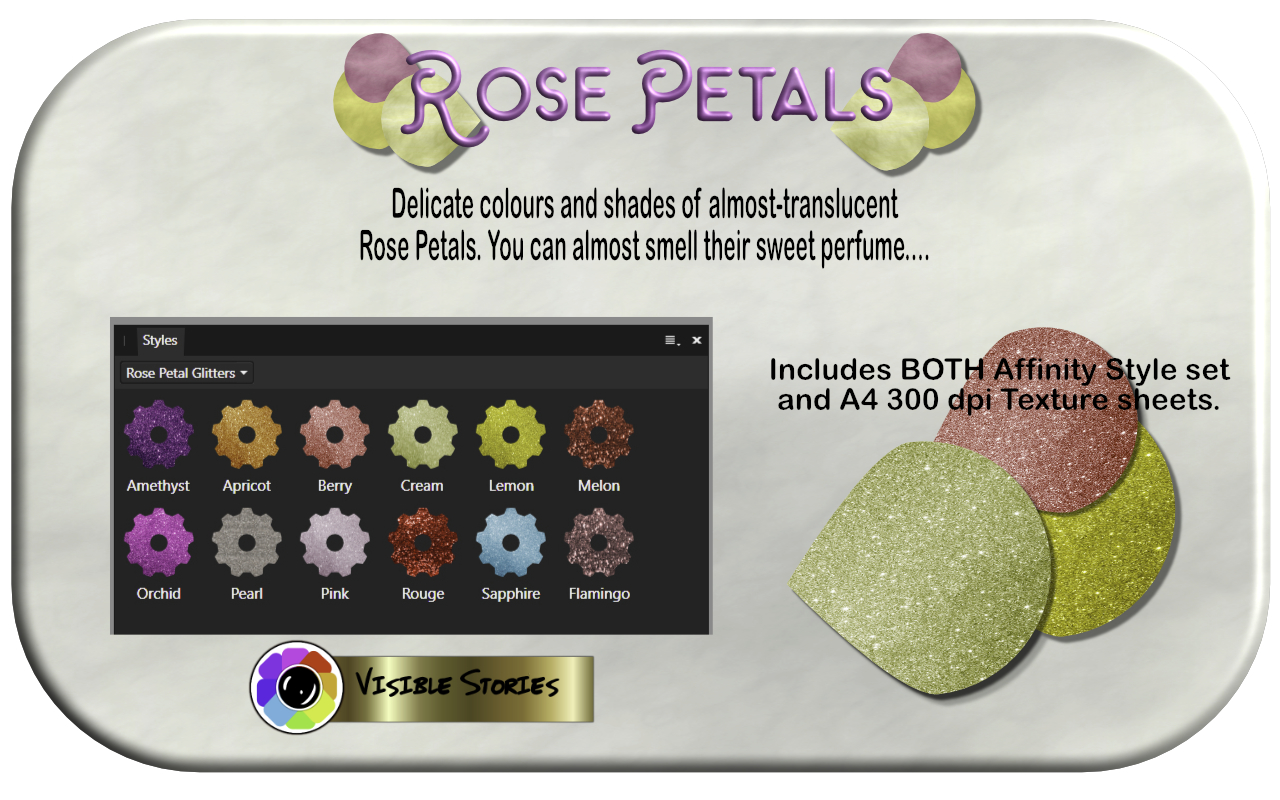 Download Free Rose Petals Grafico Por Angela H Evans Creative Fabrica for Cricut Explore, Silhouette and other cutting machines.