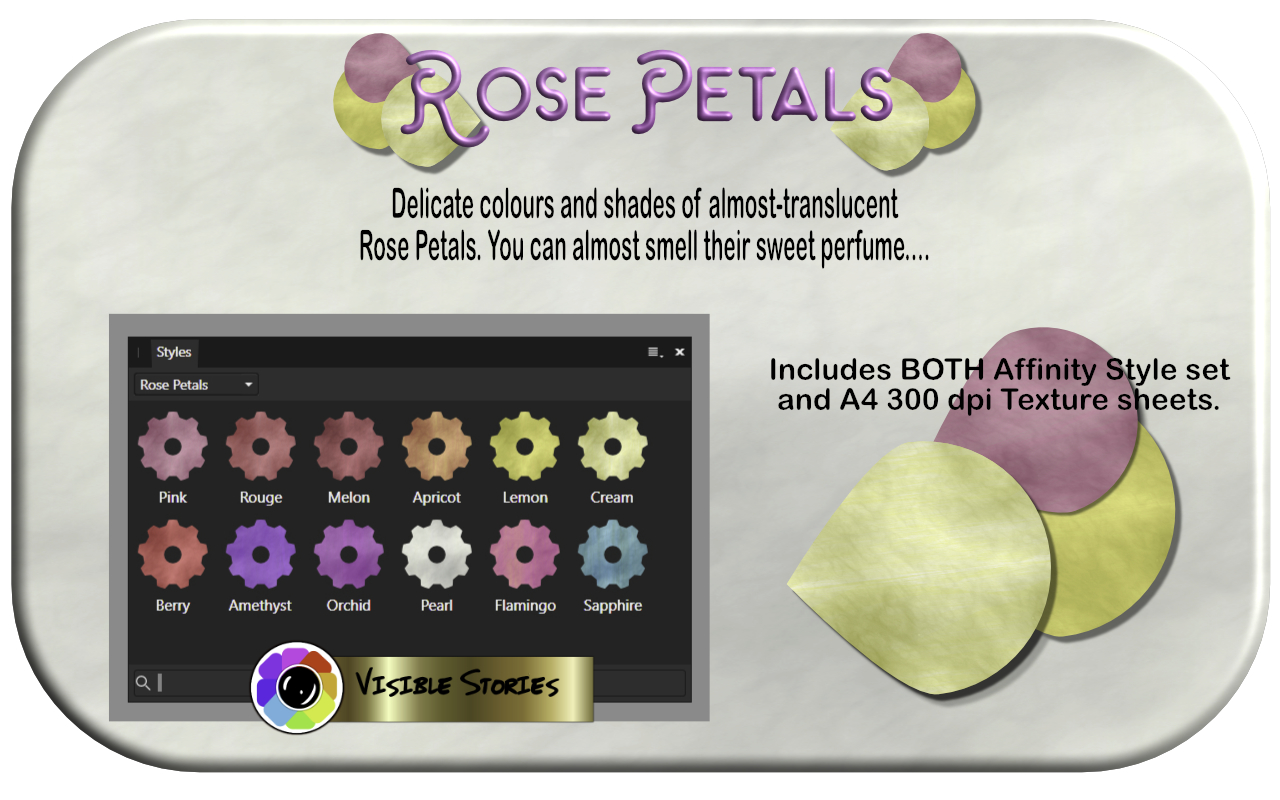 Print on Demand: Rose Petals Graphic Illustrations By Angela H. Evans