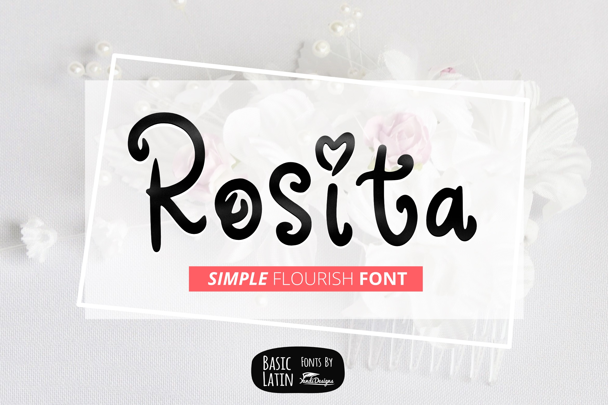 Rosita Font By YandiDesigns