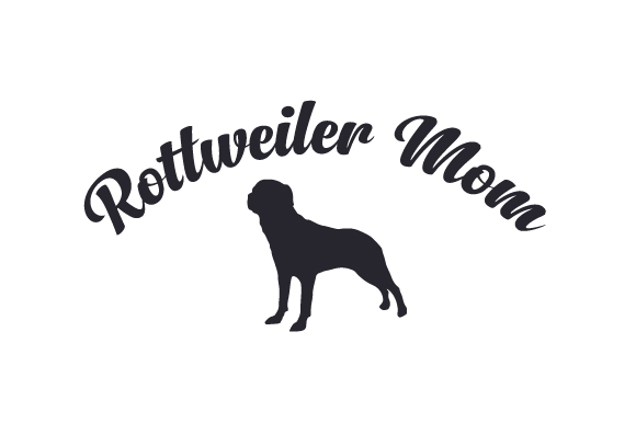 Download Free Rottweiler Mom Svg Cut File By Creative Fabrica Crafts for Cricut Explore, Silhouette and other cutting machines.