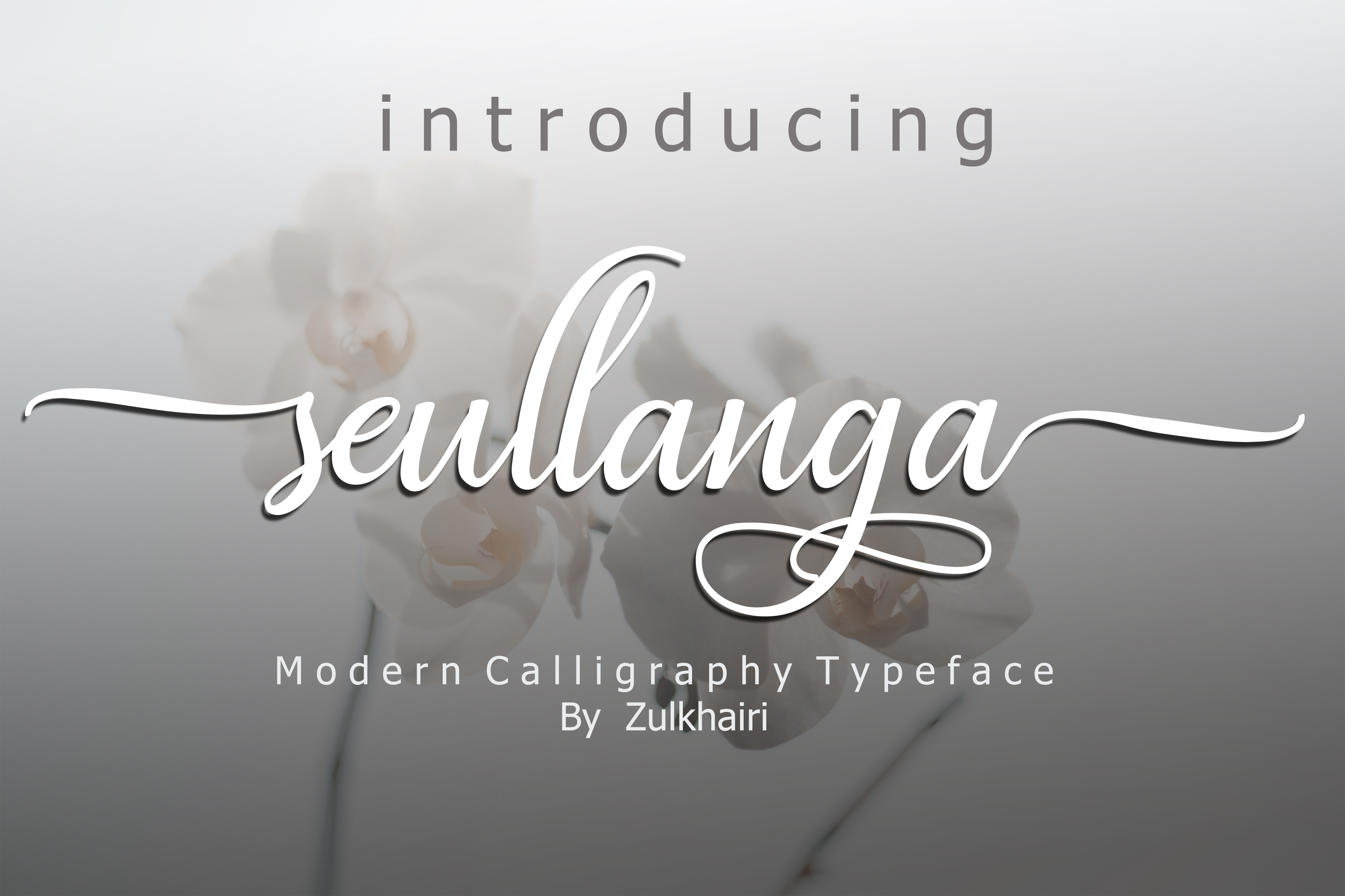 Print on Demand: Seullanga Script & Handwritten Font By zulkhairilettering