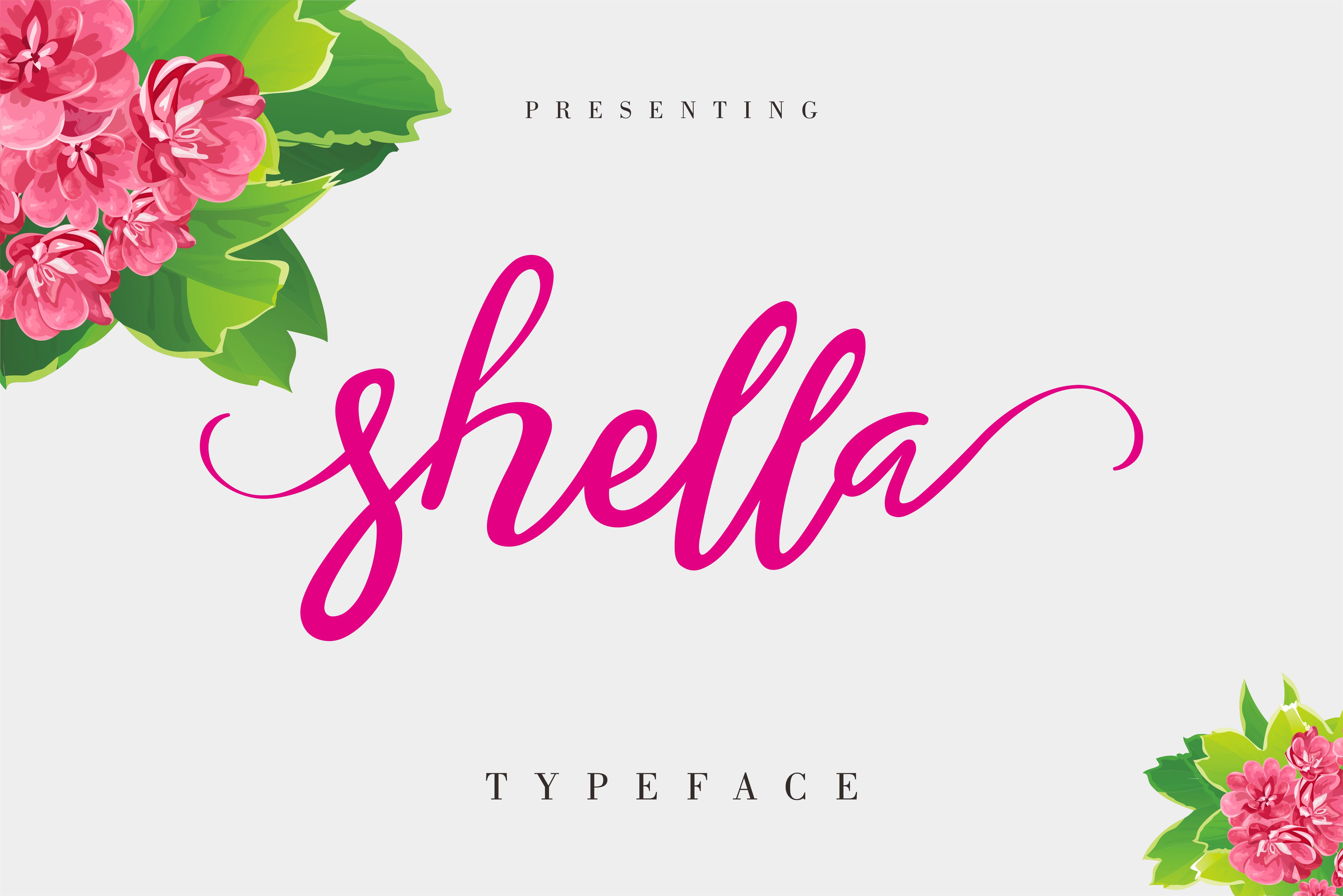 Shella Script & Handwritten Font By No Gravity Type