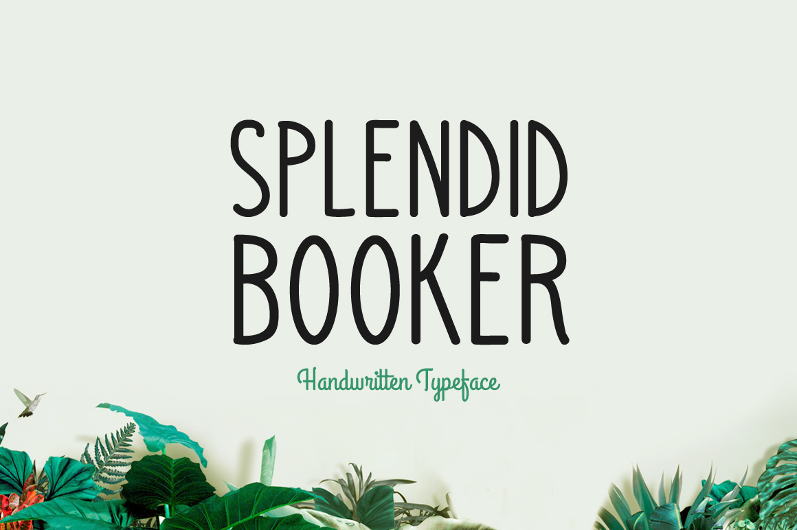 Print on Demand: Splendid Booker Script & Handwritten Font By Contour Fonts