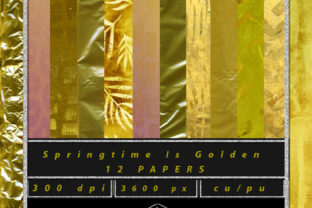 Springtime is Golden Graphic By Sojournstar