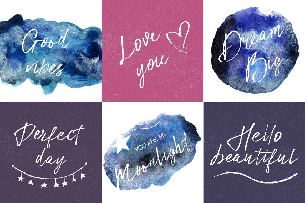 Print on Demand: Star Dust Script & Handwritten Font By Red Ink - Image 2