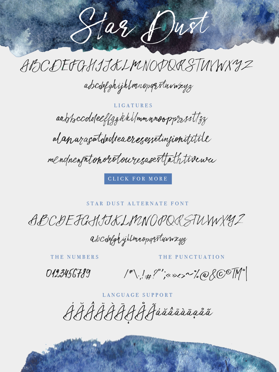 Print on Demand: Star Dust Script & Handwritten Font By Red Ink - Image 8