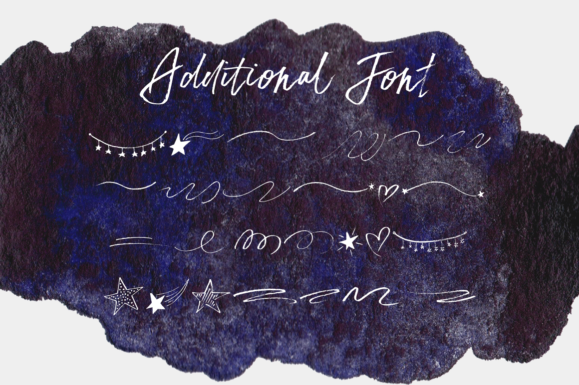 Print on Demand: Star Dust Script & Handwritten Font By Red Ink - Image 10