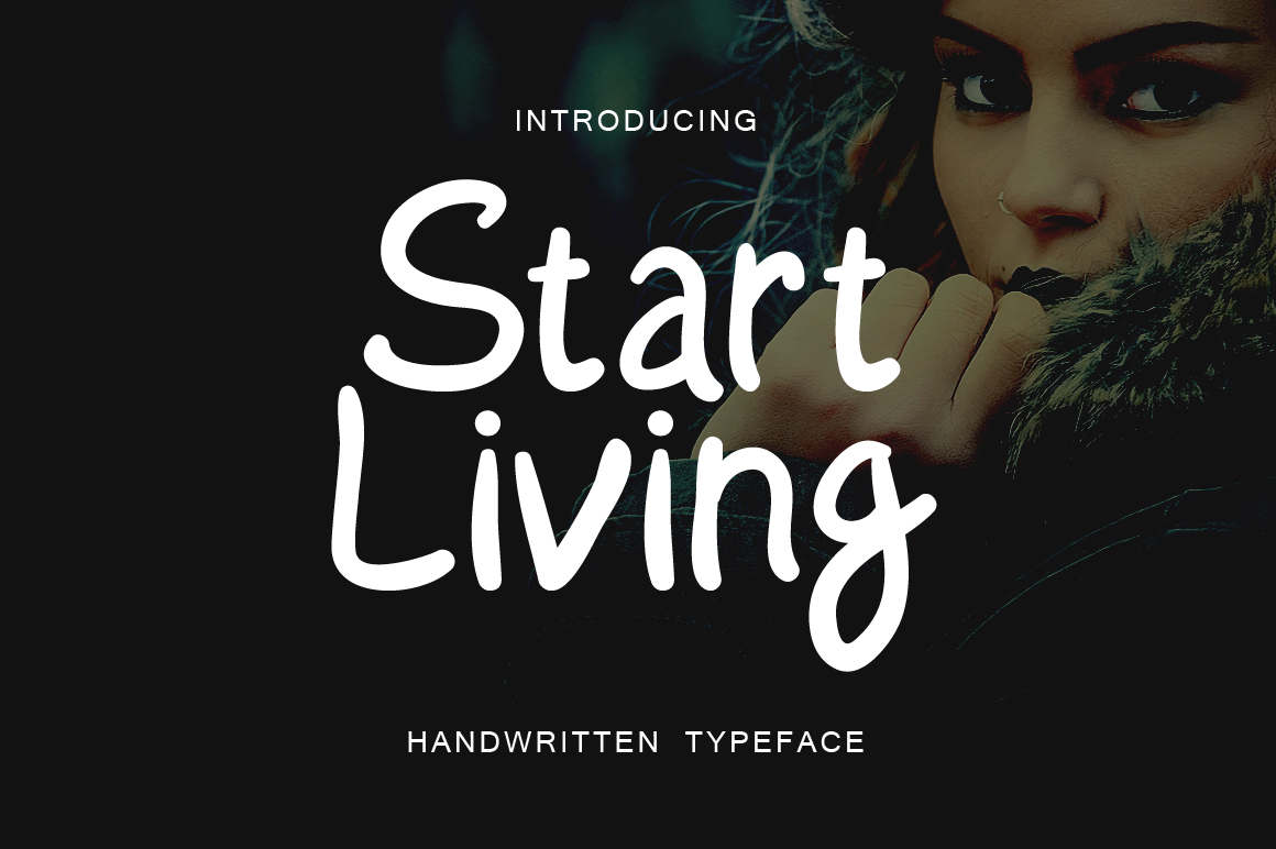 Print on Demand: Start Living Script & Handwritten Font By Contour Fonts