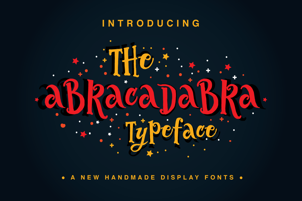 Print on Demand: The Abracadabra Typeface Display Font By Fusion Labs Type Foundry