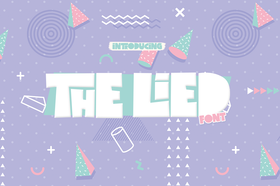 Print on Demand: The Lied Display Font By Salt & Pepper Designs