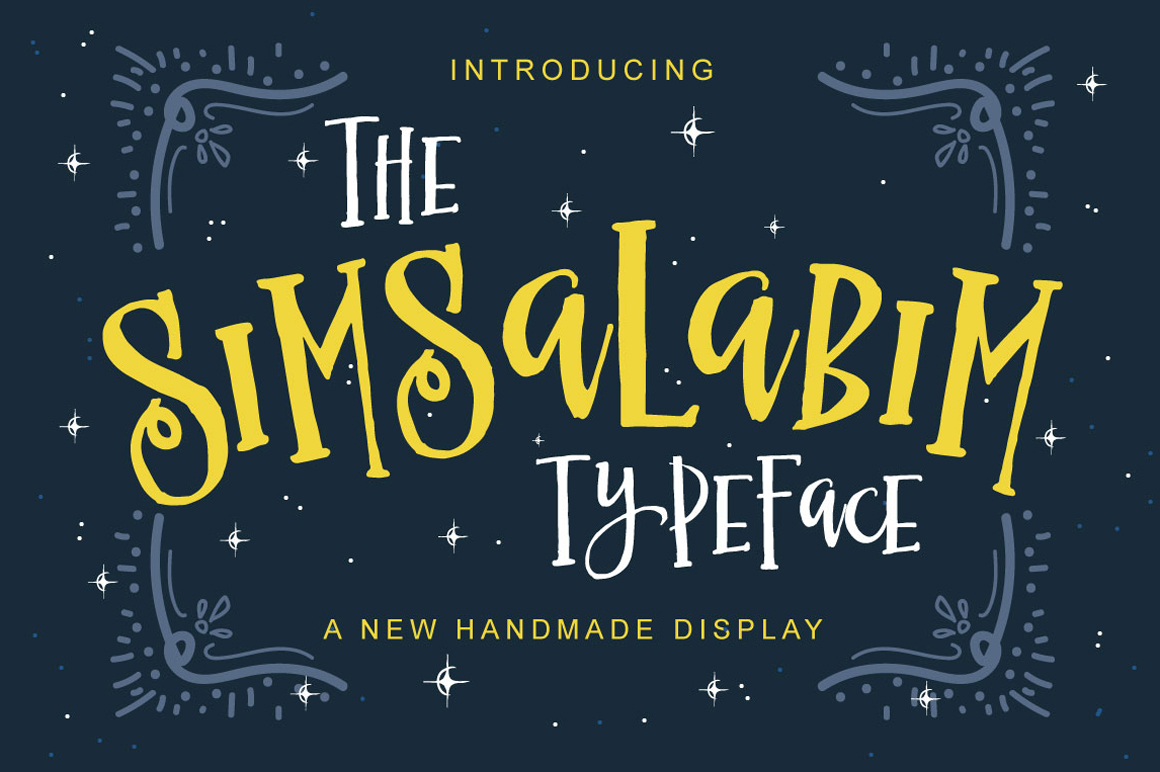 Print on Demand: The Simsalabim Typeface Display Font By Fusion Labs Type Foundry