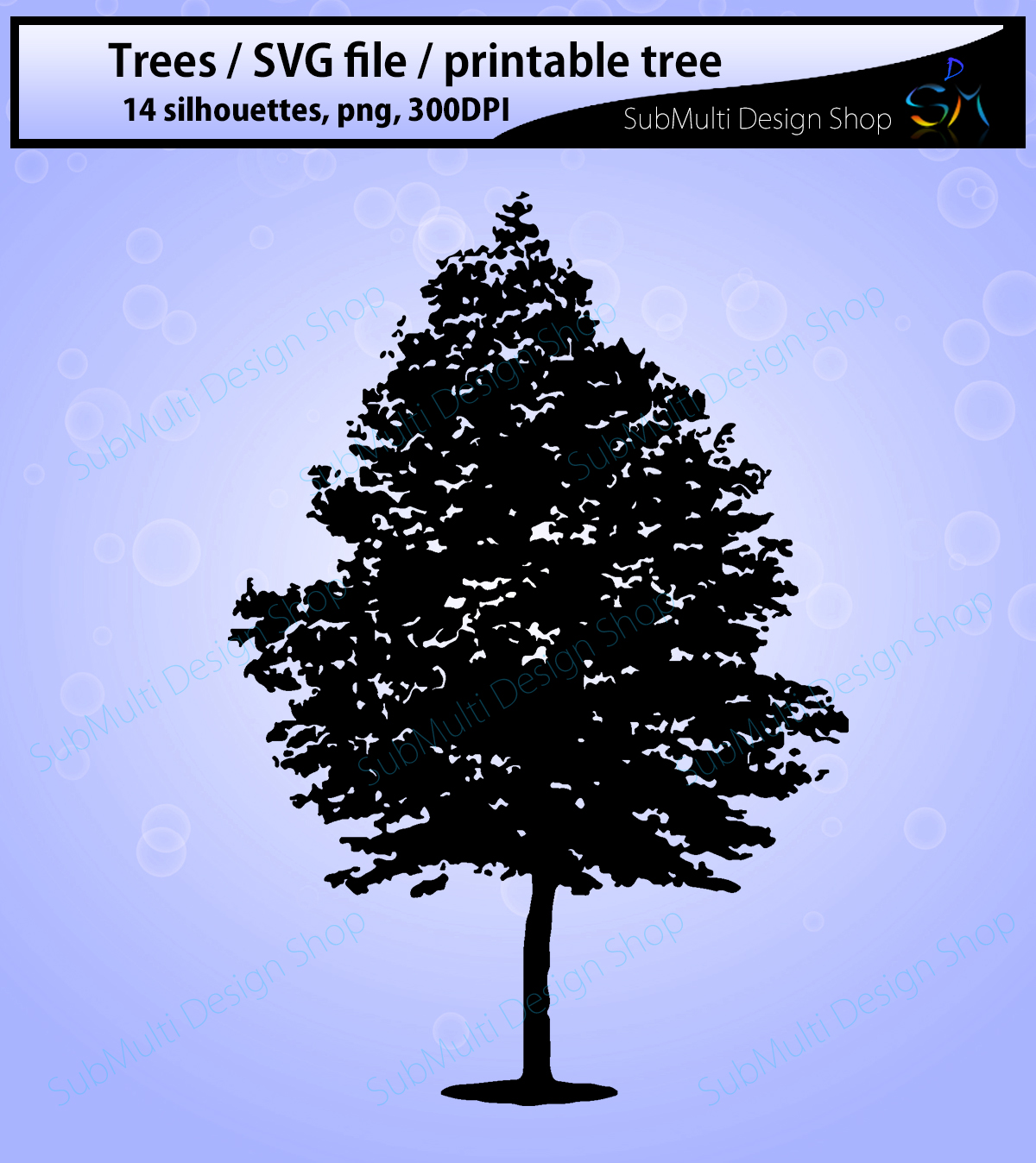 Tree Silhouette Graphic By Arcs Multidesigns Creative Fabrica