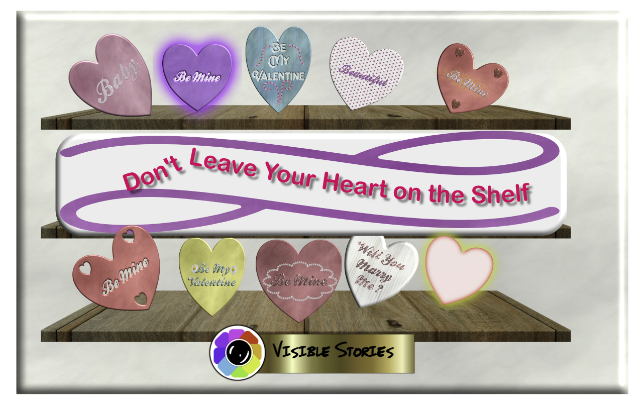Print on Demand: Valentines Hearts Graphic Illustrations By Angela H. Evans