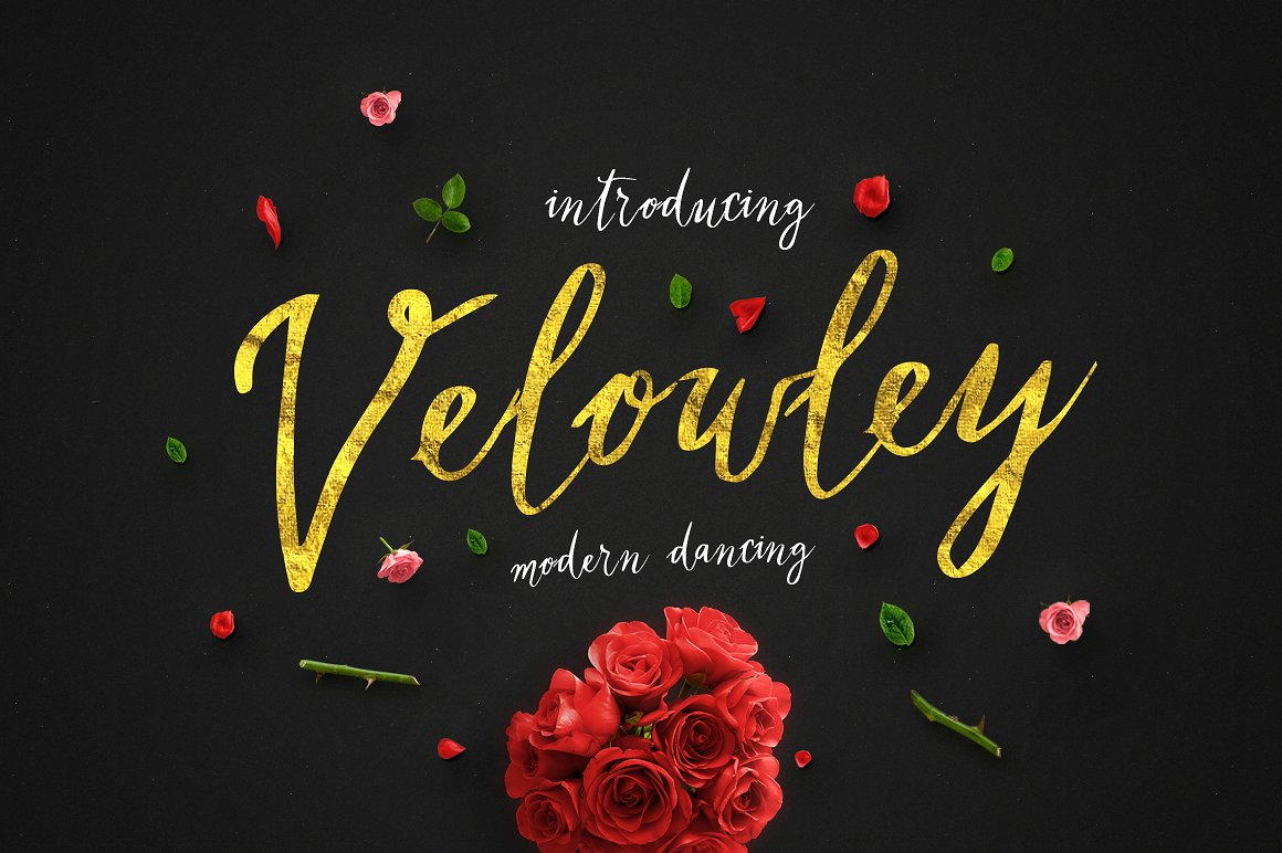 Print on Demand: Velowley Script & Handwritten Font By bloomxxvi