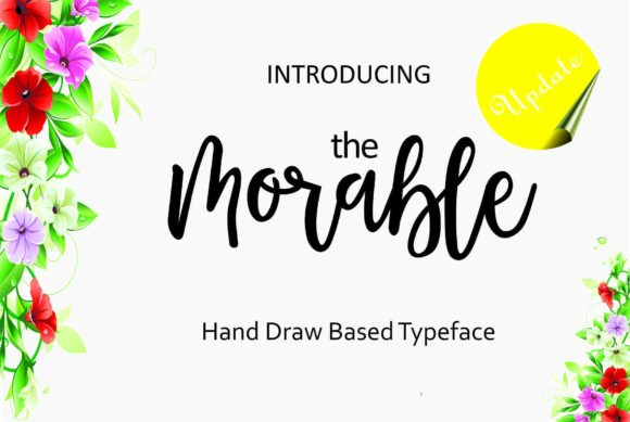 Print on Demand: Morable Script & Handwritten Font By Malindo Creative
