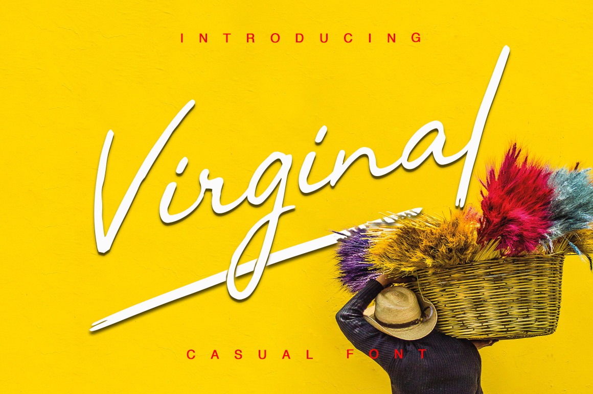 Print on Demand: Virginal Script & Handwritten Font By Pasha Larin