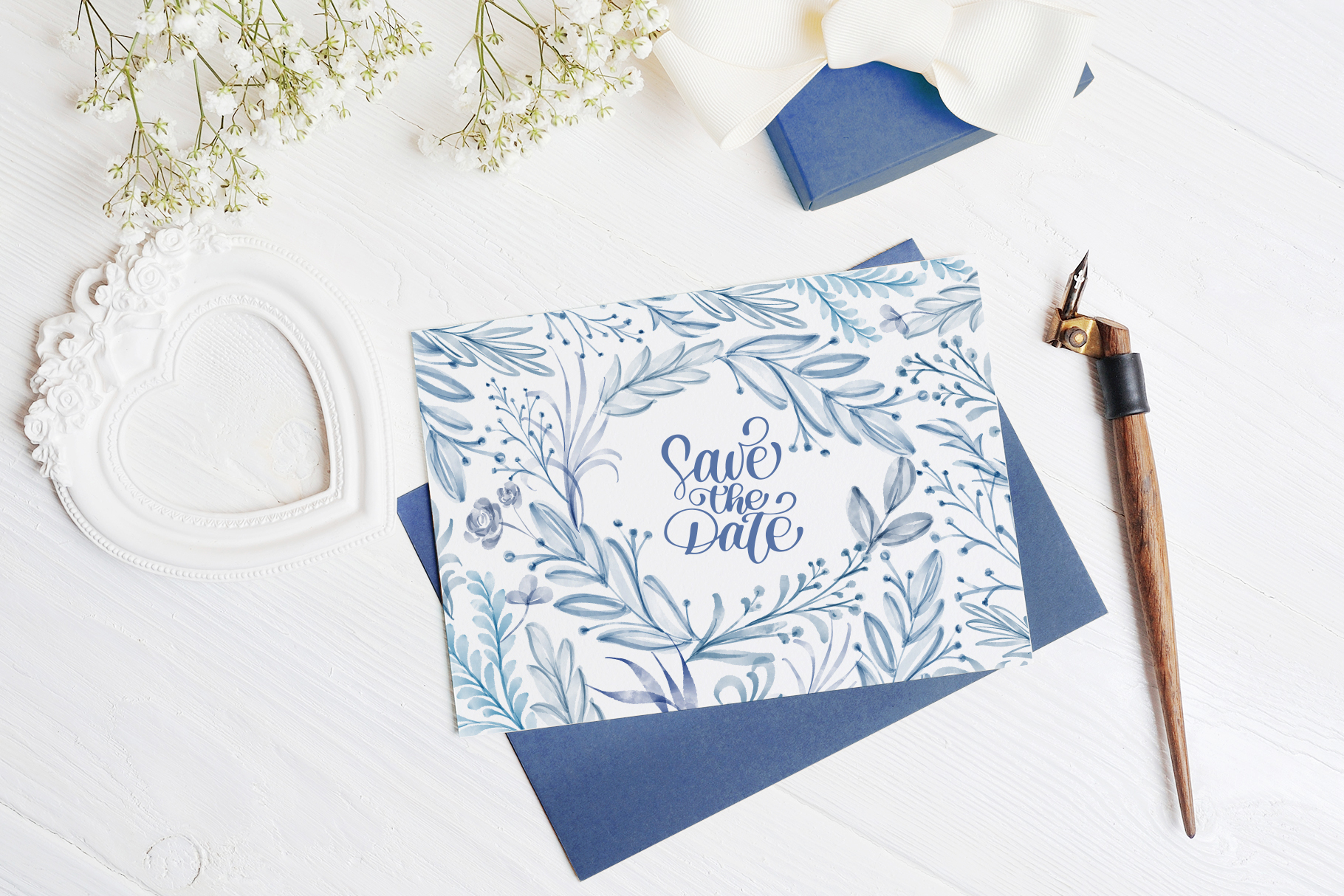 Watercolor Leaves Collection Graphic Item