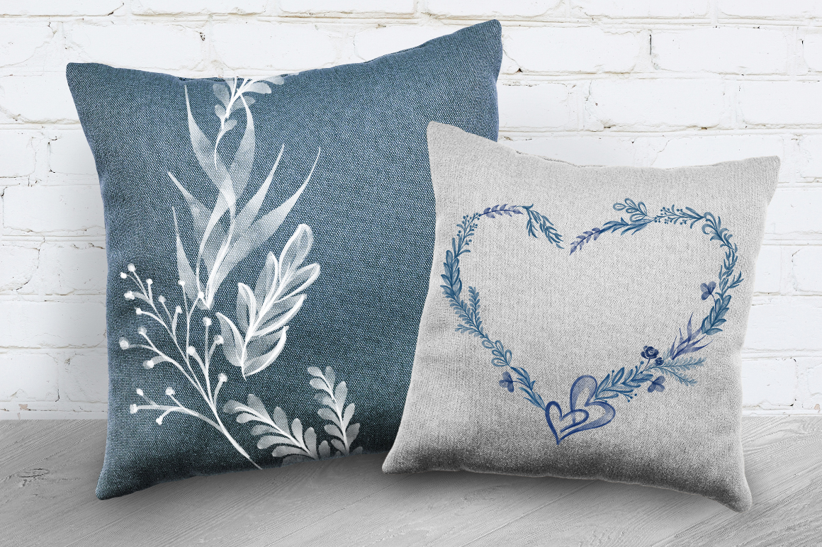 Watercolor Leaves Collection Graphic Popular Design