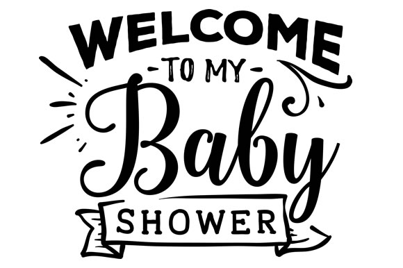 Download Free Welcome To My Baby Shower Svg Cut File By Creative Fabrica for Cricut Explore, Silhouette and other cutting machines.