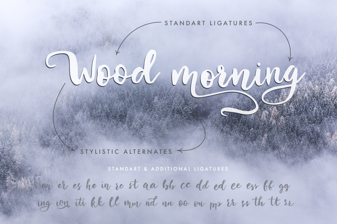 Winter Story Font By Red Ink Image 4