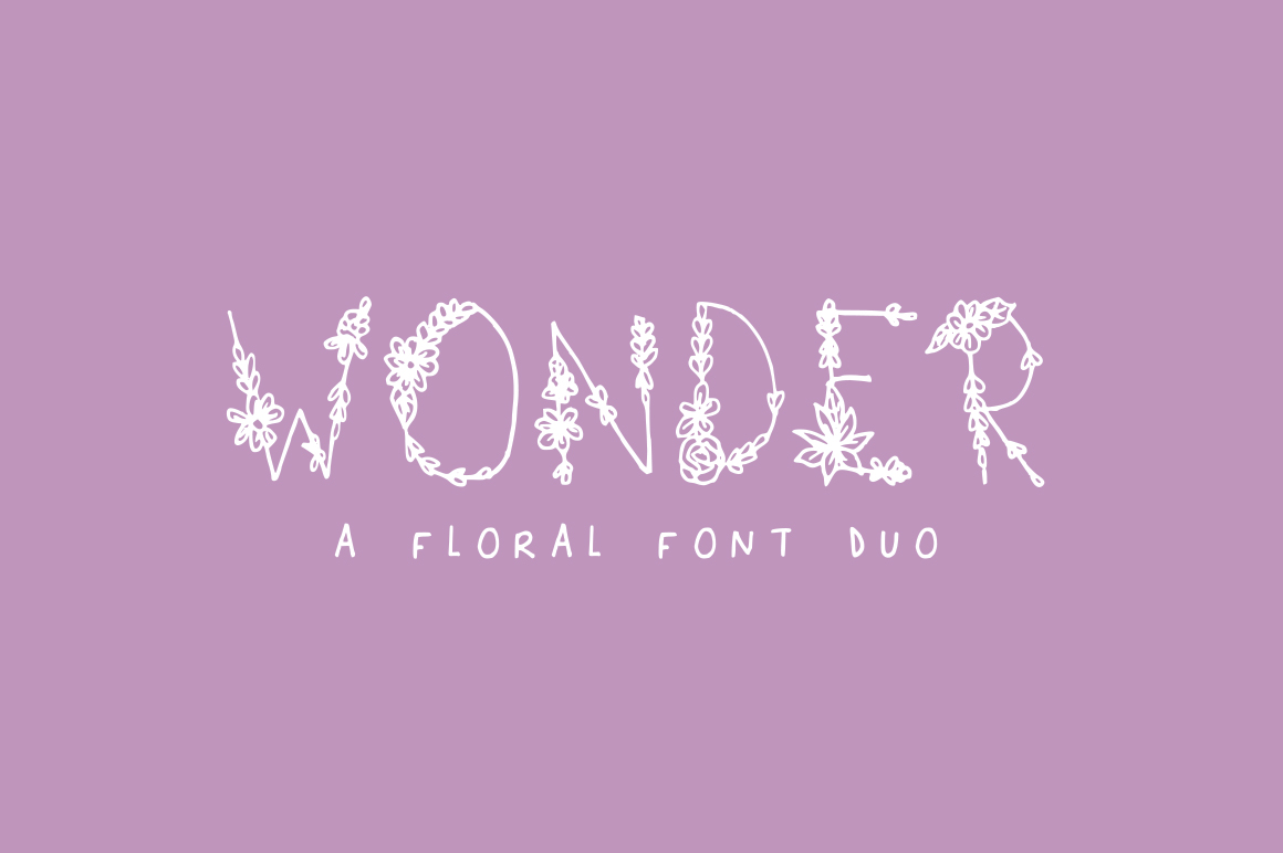 Print on Demand: Wonder Dekorativ Schriftarten von Salt & Pepper Designs