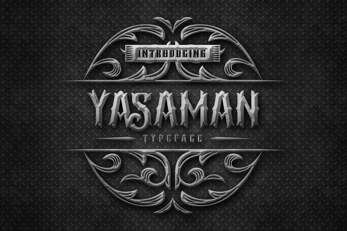 Print on Demand: Yasaman Blackletter Font By Arterfak Project - Image 1
