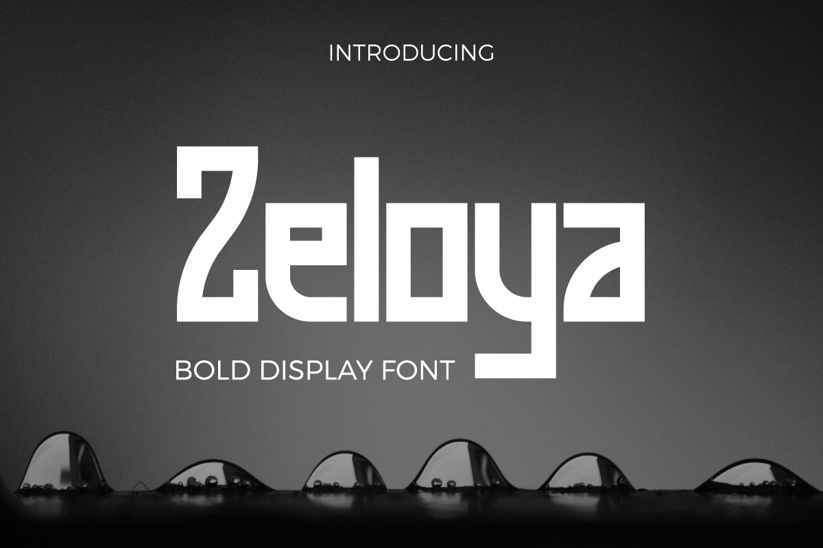 Print on Demand: Zeloya Display Font By Debut Studio