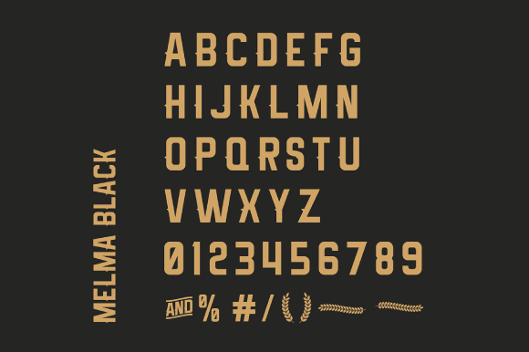 Print on Demand: Melma Font By Creative Fabrica Freebies - Image 2